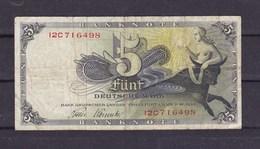 Allemagne. 5 DM 9/12/1948. Frankfurt - [ 7] 1949-… : RFA - Rep. Fed. Tedesca