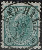 Autriche - 1890 - Y&T 48 - MI 52, Oblitéré Bad-Hall - Oblitérés