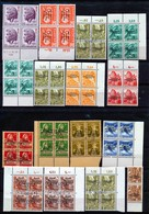 HELVETIA - Selectie Nr 386 - Dienstmarken - MNH**/o - Cote 100,00 € - Servizio