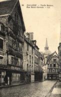 D 7801 - Falaise (14 ) Vieille Maison  Rue Saint - Gervais - Falaise