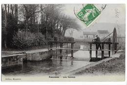 PALAISEAU (91) Les Vannes. Ed. Jullien, Menuisier, Envoi 1909 - Palaiseau