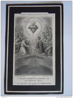 Carolus Biermans Wed Albertina Van Mechelen 1837 Turnhout 1880 Brussel L. Turgis Doodsprentje Image Mortuaire - Devotion Images