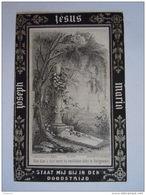 Joanna Philippina Polspoel Echt Gaspar Van Zeegbroeck 1810 1883 Antwerpen J. Dopter Doodsprentje Image Mortuaire - Devotion Images