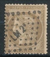 N°56  NUANCE ET OBLITERATION25 - 1871-1875 Ceres