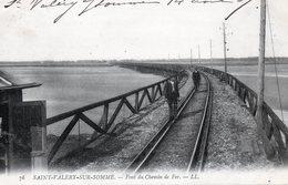 """80 SAINT ALERY SUR SOMME  """"  Le Pont Du Chemin De Fer - Saint Valery Sur Somme"""