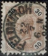 Autriche - 1891 - Y&T 63 - MI 65, Oblitéré Feldkirch - Oblitérés