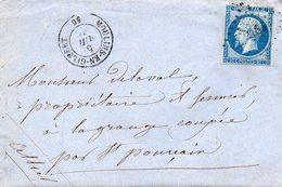 P.c.2186 MOULINS EN GILBERT (56)sur 14 II,le 5/7/61.avec Corresp. - Postmark Collection (Covers)