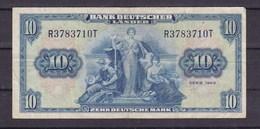 Allemagne. 10 DM. 22/08/1949. Frankfurt - [ 7] 1949-… : RFA - Rep. Fed. De Alemania