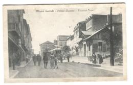 Albano Laziale Piazza Mazzini Animazione STAZIONE Tram C. 1908 - Other Cities