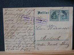 51/564  CP ALLEMAGNE/GERMANY  GERMANIA  POUR LA SUISSE P.K. COLMAR AMB. - Germany