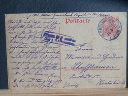 51/565  CP ALLEMAGNE/GERMANY  GERMANIA  POUR LA SUISSE P.K. - Germany