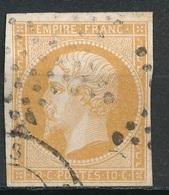 N°13  NUANCE ET OBLITERATION25 - 1853-1860 Napoléon III