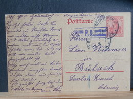 51/566 CP ALLEMAGNE/GERMANY  GERMANIA  POUR LA SUISSE P.K. - Germany