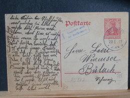 51/567 CP ALLEMAGNE/GERMANY  GERMANIA  POUR LA SUISSE P.K.  1912 - Germany