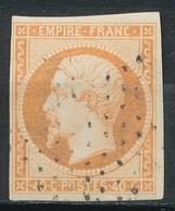N°16  NUANCE ET OBLITERATION - 1853-1860 Napoléon III