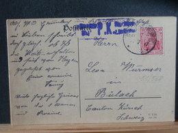 51/568 CP ALLEMAGNE/GERMANY  GERMANIA  POUR LA SUISSE P.K.  1917 - Germany