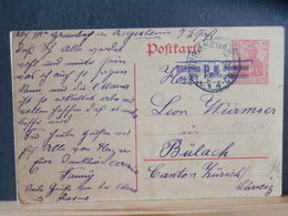 51/569 CP ALLEMAGNE/GERMANY  GERMANIA  POUR LA SUISSE P.K.  1916 - Germany