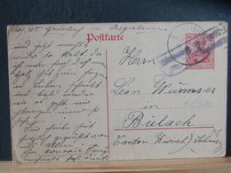 51/570 CP ALLEMAGNE/GERMANY  GERMANIA  POUR LA SUISSE P.K.  1916 - Germany
