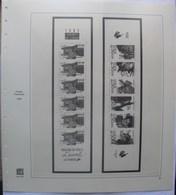 SAFE/I.D. - Jeu FRANCE CARNETS 1992 (Journée Du Timbre + Personnages Célèbres) - Fogli Prestampati