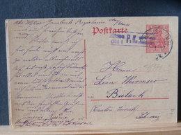 51/571 CP ALLEMAGNE/GERMANY  GERMANIA  POUR LA SUISSE P.K.  1917 - Germany