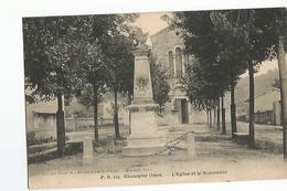 38 Champier L'Eglise Et Le Monument - Ohne Zuordnung