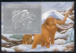 SOUTH OSSETIA - Break-Away State - 1994 - Prehistoric Mammals, Silver - Perf Min Sheet - M N H - Georgien