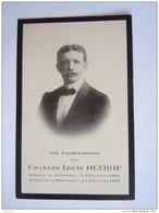 Charles Louis Olthof 1880 Antwerpen 1918 Borgerhout Doodsprentje Image Mortuaire - Devotion Images