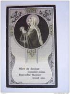 Marie Henriette Bernaert épouse De Maurice Cosyn 1888 Gand 1915 Wilryck Art Nouveau Doodsprentje Image Mortuaire - Images Religieuses
