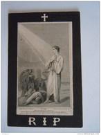Helena Adriana Van Lingen Echtg Joannes Diephenbach 1837 Breda 1893 Antwerpen L. Dopter Doodsprentje Image Mortuaire - Devotion Images