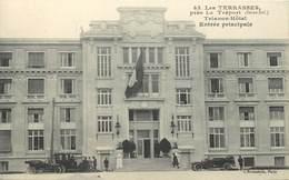 LE TREPORT - Les Terrasses, Trianon Hôtel, Entrée Principale. - Le Treport