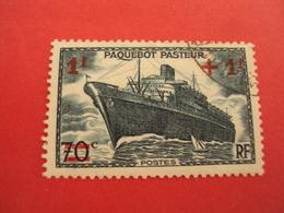 """1941 Oblitéré N° 502  """"Paquebot  PASTEUR""""    Net 0.50 - Frankreich"""