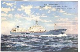 JESPER MÆRSK Built TSURIMI SHIPYARD 1961 Colour Pc - Commerce