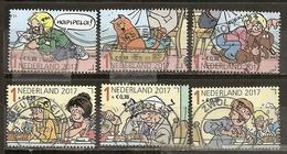 Pays-Bas Netherlands 2017 Dessin Anime Cartoon Set Complete Obl - Periode 2013-... (Willem-Alexander)