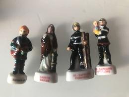Fèves Lot Pompiers - Autres
