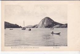 CPA Old Pc Bresil Brasil Victoria Penedo Vierge - Vitória