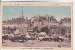 35-SAINT MALO LES AUTOCARS POUR LE MONT SAINT MICHEL - Saint Malo