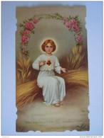 Jezus Jesus Salvator Mandi  1932 Image Pieuse Holy Card Santini - Images Religieuses