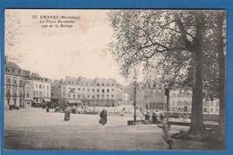 VANNES LA PLACE GAMBETTA VUE DE LA RABINE - Vannes