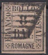 MiNr. 8, Voll- Bis Breitrandig, Gut Gestempelt - Romagna