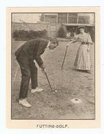 COUPURE De PRESSE SPORT DÉBUT XX ème SIECLE ANNÉE 1908 - FUTTING GOLF - Golf