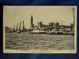 CP-Cherbourg (50) La Nouvelle Gare Maritime, 1939 - Cherbourg