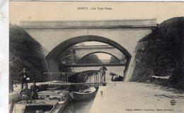 Sorcy-Saint-Martin  -  Les Trois Ponts   -  CPA - Otros Municipios