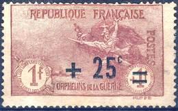 168  LA MARSEILLAISE1F Surch 25c  NEUF SANS GOMME  ANNEE 1922 - Nuovi