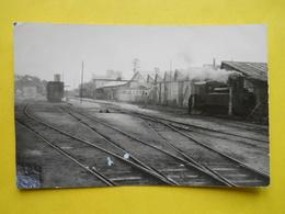 Photo Chapuis ,en Gare De Lesneven - Trenes