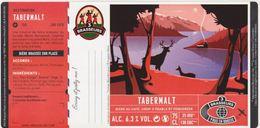 Etiquette (label) De Biere Française  ( Beer, Cerveza, Birra, Bier);Micro-Brasserie LES 3 BRASSEURS - Bière