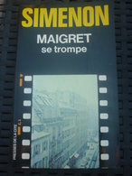 SIMENON: MAIGRET Se Trompe / PRESSES DE LA CITE. 1980 - Non Classés