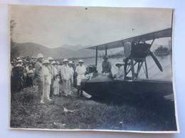 Photo Hydravion Indochine - Aviation