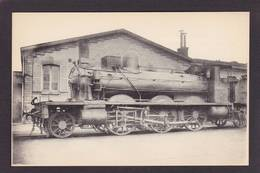 CPA Train Locomotive Gros Plan Non Circulé éditeur HMP N°237 - Trains