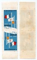 GRENOBLE - 38 - ISERE /  1968 VIGNETTES ILLUSTREES JEUX OLYMPIQUES / TETE BECHE (ref 8118) - Sports