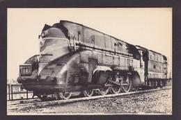 CPA Train Locomotive Gros Plan Non Circulé éditeur HMP N°240 La Chapelle - Trains
